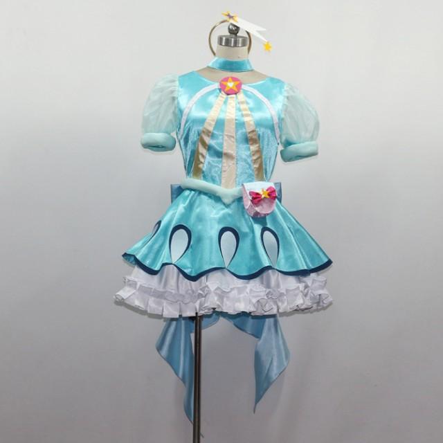 スター☆トゥインクルプリキュア 羽衣ララ キュアミルキー コスプレ衣装【送料無料】(cc2529)