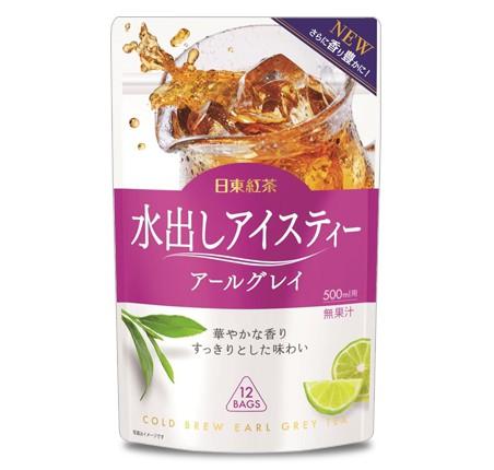 【送料無料(一部地域を除く)】日東紅茶 水出しアイスティー アールグレイ ティーバッグ (36g×12袋入)×24個