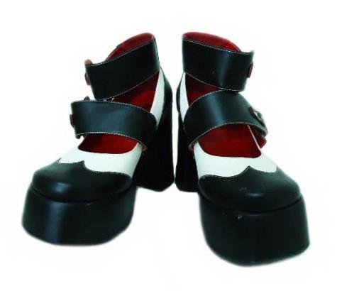 KERA「M」エレベーターボンテージヒールシューズ (Elevator bondage heel shoes) ケラ ゴスロリ 053057