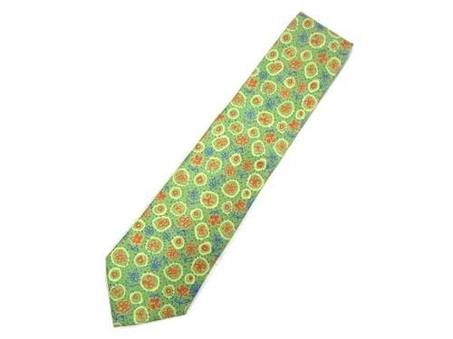 marie claire Antique flower necktie マリクレール アンティーク フラワー ネクタイ 065613