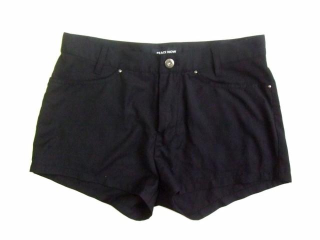 PEACE NOW「M」Devilish hot pants ピースナウ 悪魔的 ホット パンツ (ショート ハーフ ゴスロリ BLACK ブラック)■