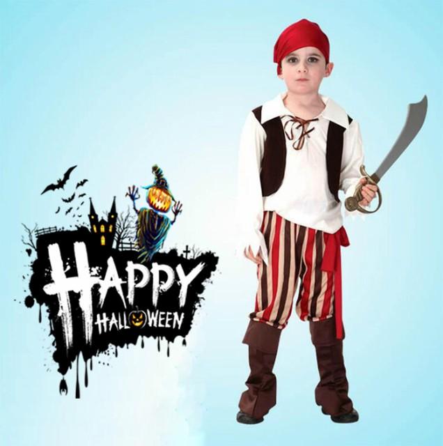 726f80ff1bab8 2点以上送料無料 海賊キャプテン パイレーツ仮装 子供用 ハロウィン衣装 男の子 コスプレ キッズ