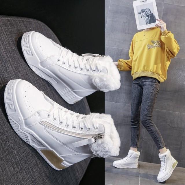 おしゃれ 靴 スノーブーツ ムートンブーツ レディース ショート 可愛い 秋 冬 靴 暖か 裏起毛 ショートブーツ もこもこ ボア ブーツ シュ