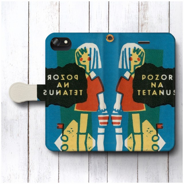 iPhone5 ケース iPhone5s スマホケース 手帳型 全機種対応 ケース おしゃれ 人気 ケース 絵画 レトロポスター マッチボックスラベル ア