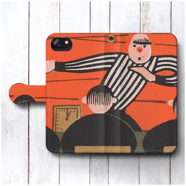 iPhone7 ケース iPhone8 スマホケース 手帳型 全機種対応 ケース おしゃれ 人気 ケース 絵画 レトロポスター ロシア マッチボックスラベ