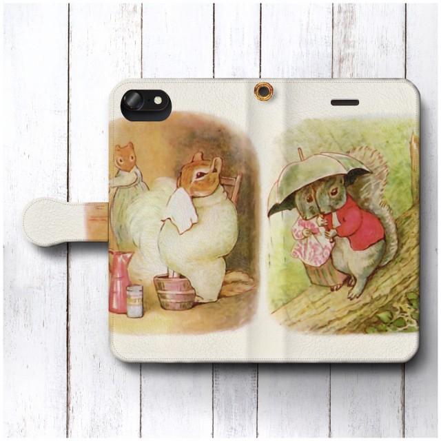iPhone6sPlus ケース スマホケース 手帳型 全機種対応 ケース おしゃれ 人気 ケース 絵画 つまさきチミー ピーターラビット3