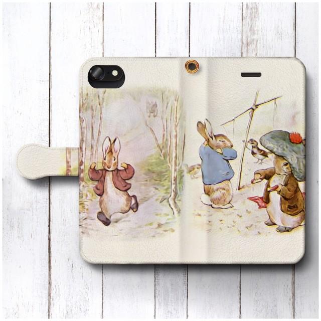 iPhone7 ケース iPhone8 スマホケース 手帳型 絵画 レトロ 全機種対応 ケース 人気 ケース 丈夫 耐衝撃 ピーターラビット ビアトリクス