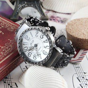 【お取り寄せ】腕時計 アンティーク風 シンプル バングル (文字盤ホワイト)