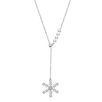 S925 スターリングシルバー 雪の結晶 ネックレス イヤリング ブレスレット リングセット レディース ガールズ ジュエリー