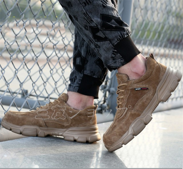 安全靴 作業靴 おしゃれ メンズ レディース 夏 冬 大きいサイズ 格好いい 踏み抜き防止 軽量 作業用品 スニーカー 23cm-28cmつま先保護