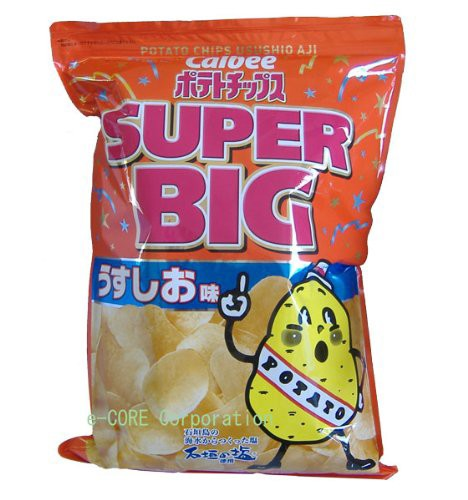 カルビー ポテトチップス SUPER BIG うすしお味 500g