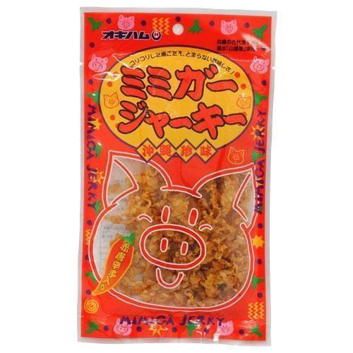 沖縄ハム(オキハム) ミミガージャーキー 23g×10袋