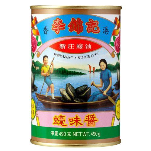 リキンキ オイスターソース 白缶 490g