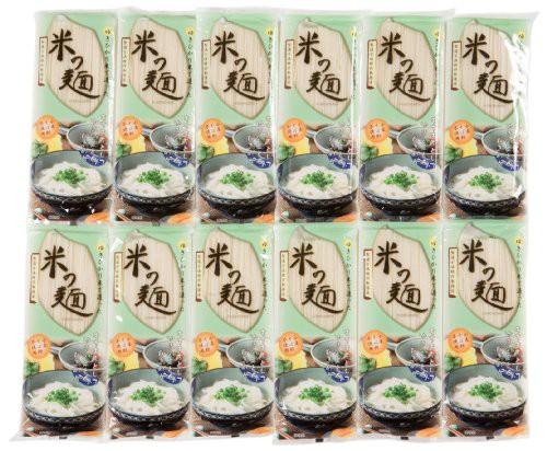 自然芋そば 米の麺 180g×12箱
