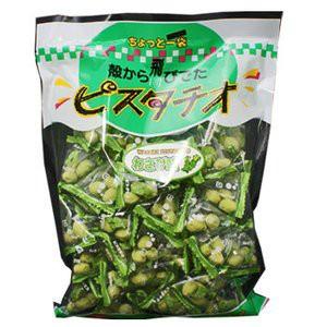 [業務用] 大容量 グリーンスナック ピスタチオ わさび味 240g (千成堂)