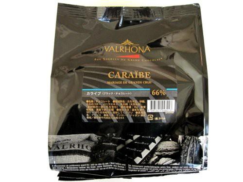 [カカオ分66%] VALRHONA ヴァローナ フェーブ カライブ 1kg