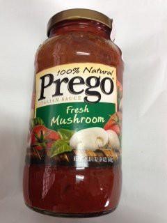 キャンベル Prego プレゴ パスタソース マッシュルーム680g 2本セット イタリアンソース