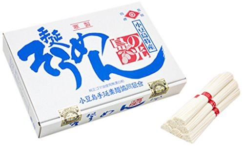 小豆島手延素麺 島の光 (2kg(50g×40束)約20食分)