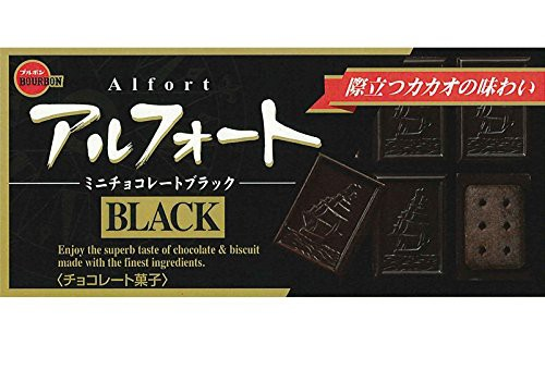 ブルボン アルフォートミニチョコレートブラック 12個入×10箱
