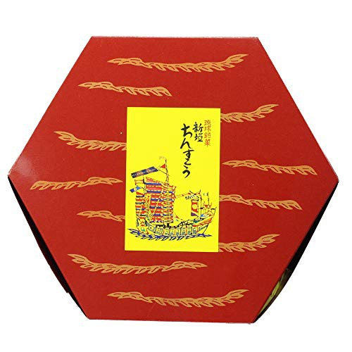 新垣ちんすこう 小亀6色詰合せ 24袋入り×2箱 沖縄のお土産で大人気!(プレーン、紅芋、チョコ、黒糖、ゴマ塩、海塩の6種類×各4袋入り!