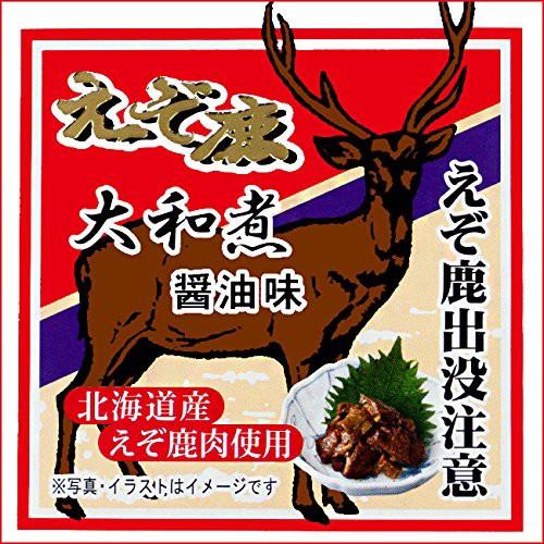 えぞ鹿肉大和煮 70g もみじ肉しょうゆ味