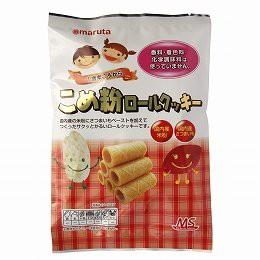 太田油脂 MS こめ粉ロールクッキー 10個 ×12セット