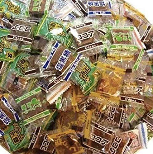 黒糖バラエティーパック 1袋(1袋・540gl・個包装込)【くろくろとう 】【ミント黒糖】【生姜黒糖 】【塩黒糖 】【ココア黒糖 】【シーク
