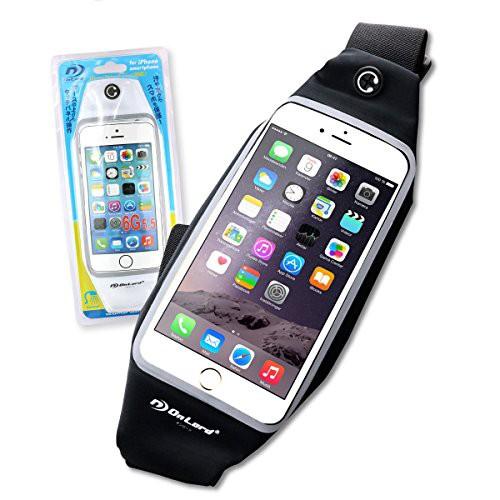 防水ポーチ 防水ケース スマホ iPhone7 Plus Xperia Galaxy ウエストポーチ 5.5インチ オンロード(OS-029B)黒