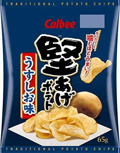カルビー 堅あげポテト うすしお味 65g×12袋
