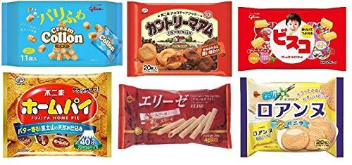 焼き菓子(クッキー・ビスケット・パイ・ウエハース等) お徳用袋 詰め合わせ 6種類 各1袋