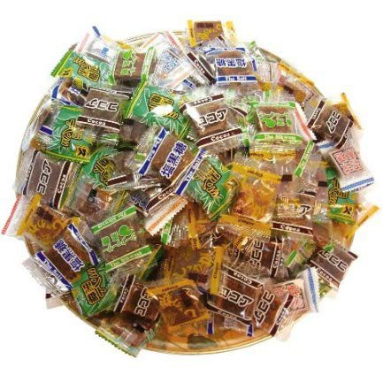 黒糖バラエティーパック 1袋(1袋・270g・個包装込)【くろくろとう 】【ミント黒糖】【生姜黒糖 】【塩黒糖 】【ココア黒糖 】【シーク