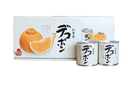 JAあしきた 熊本デコポン缶詰 (10缶入り(化粧箱))