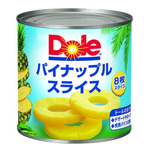 ドール パイナップル(8枚スライス) 432g×24個