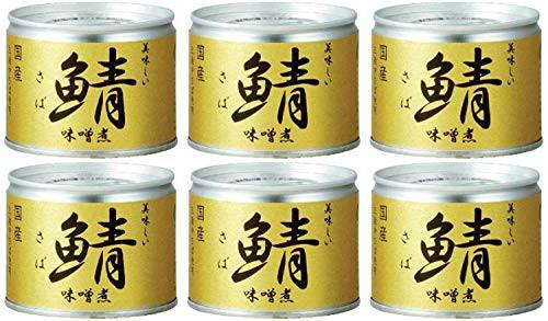 伊藤食品 美味しい鯖味噌煮 190g×6缶