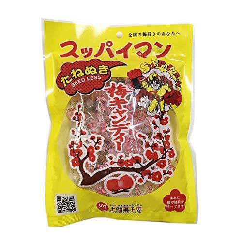 スッパイマン 梅キャンディー たねぬき 12個×4袋