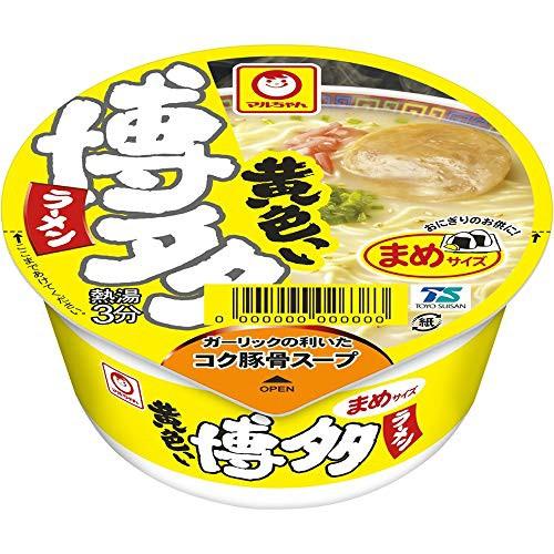 マルちゃん 黄色いまめ博多ラーメン 37g ×12個