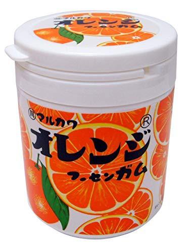 マルカワ オレンジマーブルガム ボトル 130g×3個