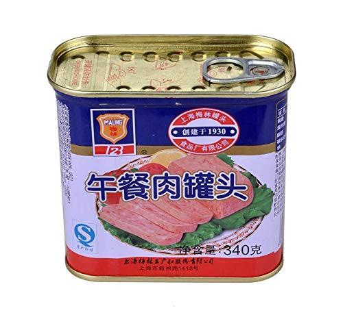 梅林午餐肉 ランチョンミート 味付け豚肉 340g×3点