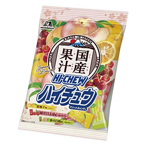 森永製菓 国産果汁ハイチュウアソート 77g ×6袋