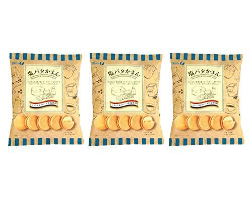 【3袋セット】 塩バタかまん 137g × 3袋