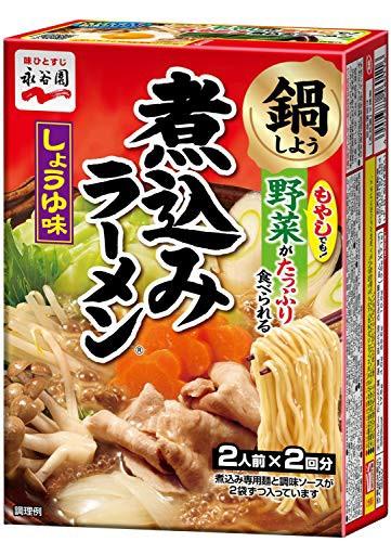 永谷園 煮込みラーメン しょうゆ味 (2人前×2回分) ×6個