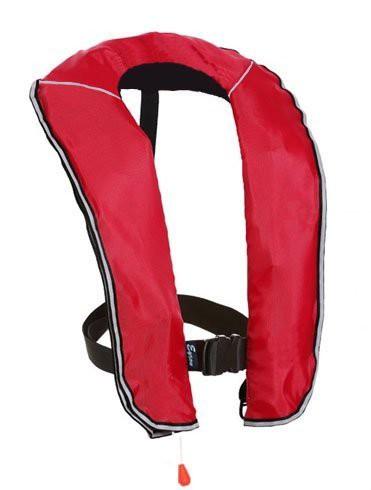 eyson(エイソン) ライフジャケット インフレータブルベストタイプ 釣り用 自動/手動膨張 救命胴衣 CE認定済