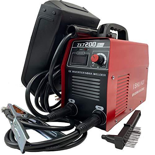 ISHUHUI 半自動 直流 電気溶接機器 インバーター 100V 110V 定格使用率 60% 小型 軽量 50Hz 60Hz 専用 家庭用ポータブル電動工具 [並行
