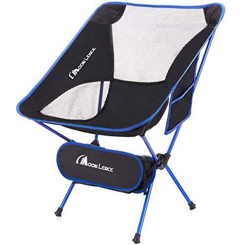 商品名Moon Lence アウトドアチェア キャンプ椅子 折りたたみ コンパクト 超軽量 イス 収納バッグ付き ハイキング お釣り 登山 耐荷重150