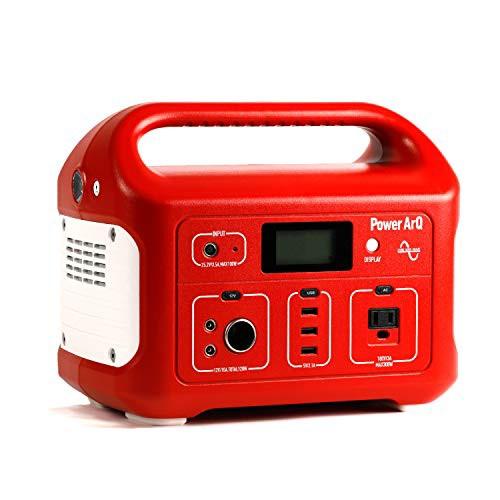 SmartTap ポータブル電源 PowerArQ レッド (626Wh/174 000mAh/3.6V/正弦波 100V 日本仕様) 正規保証2年 008601C-JPN-FS-RD 008601C-JPN-F