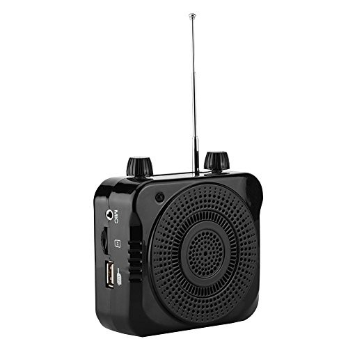 VBESTLIFE ポータブル拡声器 アンプ オーディオワイヤレスラジオFM USBスピーカー 高音質 35W イベント/講演/説明会などに適用