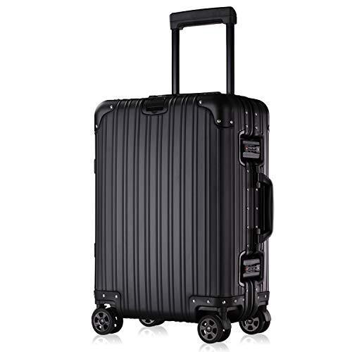 スーツケース キャリーケース TSAロック搭載 3段階調節 アルミ・マグネシウム合金製 キャリーバッグ 360度回転 超静音キャスター 旅行