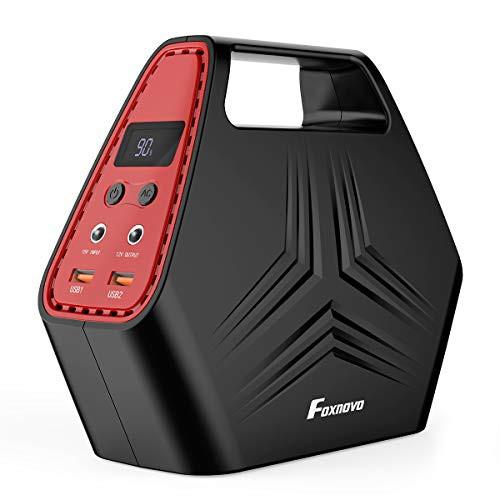 Foxnovo ポータブル電源 家庭用蓄電池 発電機 40000mAh/146Wh 大容量 三つの充電方法 AC DC USB出力 急速充電QC3.0 LCD大画面表示
