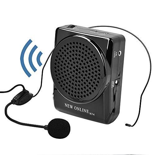 ポータブル拡声器 小型 iitrust ハンズフリー 20W イベント 講演 説明会 店頭販売などに対応 充電式 スピーカー マイクロホン C01810-C-