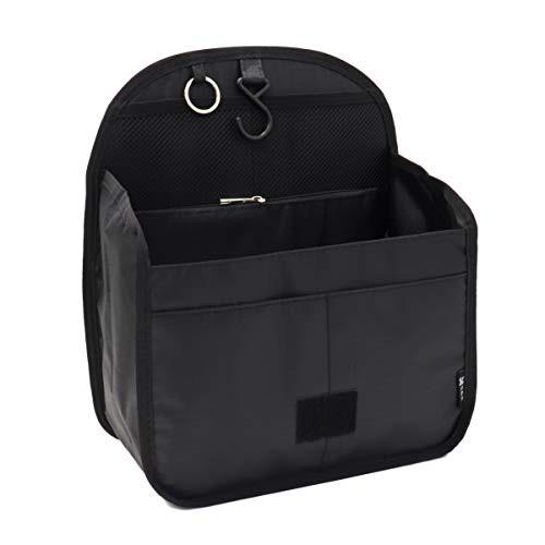 バッグインバッグ リュックインバッグ 軽量 縦型 大容量 キーリング小さめ 大きめ 整理 収納 バッグ メッシュ ポケット トラベルポーチ
